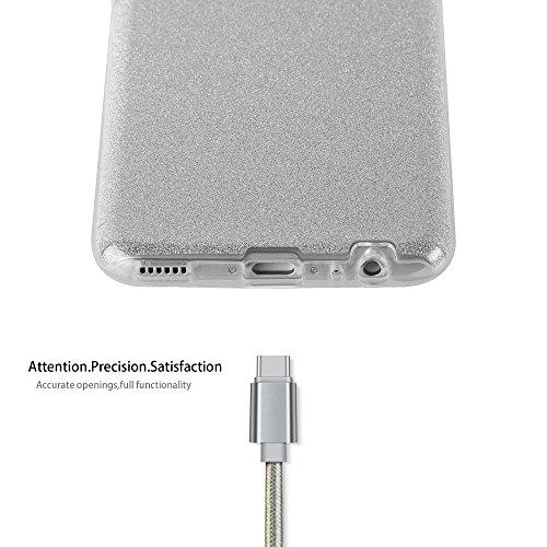 Cadorabo - Cubierta protectora lujosa para >                                              Huawei P10                                              < de silicona TPU y una Carcasa Dura en diseño Destello