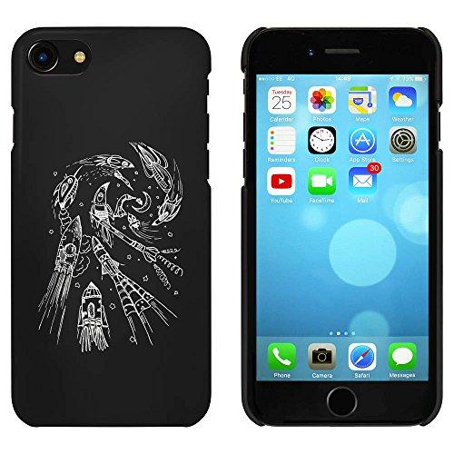 Noir 'Rockets à la Lune' étui / housse pour iPhone 7 (MC00065665)