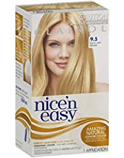 Clairol Nice'n Easy Permanant Hair Colour, 9.5 Extra Light Blonde, 1 count