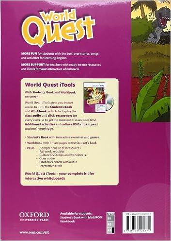 World Quest: 1: Teacher's Book Pack: 9780194125871: Amazon.com: Books