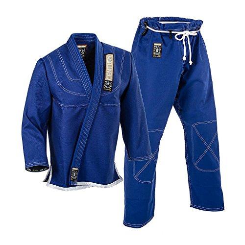 (Century Spider Monkey Brazilian Jiu-Jitsu Uniform (Blue, M3))