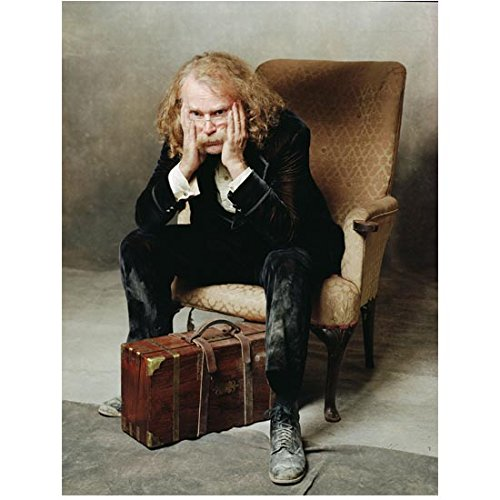 Deadwood (TV Series 2004 - 2006) 8 Inch x10 Inch Photo Brad Dourif Suitcase on Floor Palms to Face kn