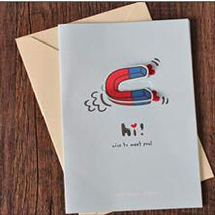 Tarjeta Regalo BLTLYX Tarjeta De Felicitación Día De San ...