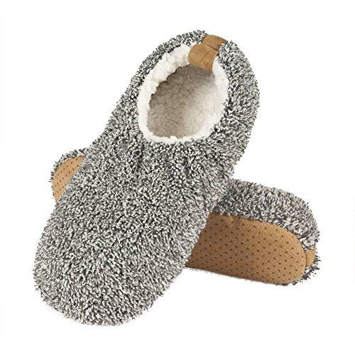 SOXO - Zapatillas de estar por casa para hombre Gris - gris