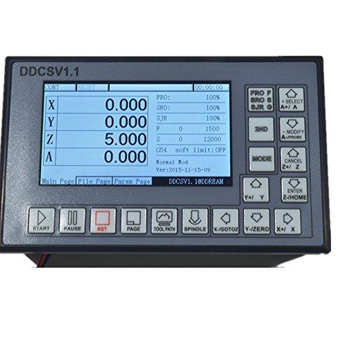 Software Vso (ELEOPTION DDCSV1 4 Axis Control System G Code Engraving Machine Controller Motor CNC Driver 500K 18-32VDC1A)