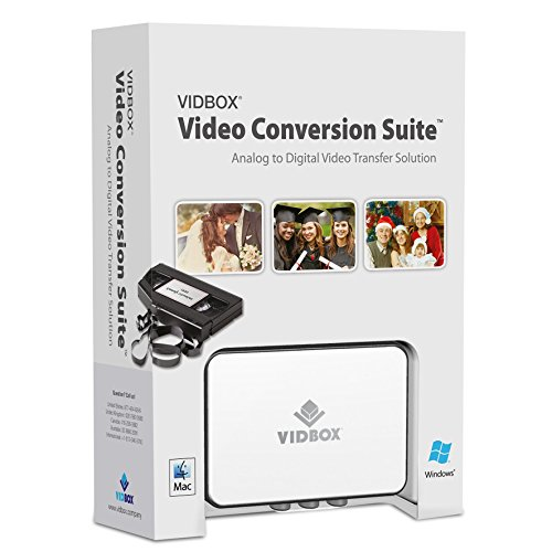 VIDBOX Video Conversion Suite (8mm Vcr Player)