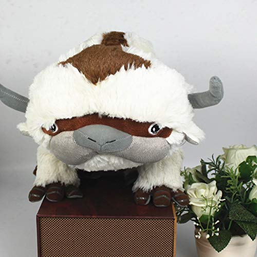 Anime 50cm Avatar Last Airbender Appa Cow Juguetes Appa Plush Soft Stuffed Huge Jumbo Toy from Avatar The Last Airbender ()
