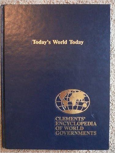 Descargador de libros gratis Clements' Encyclopedia of World Governments (Volume 11) PDF