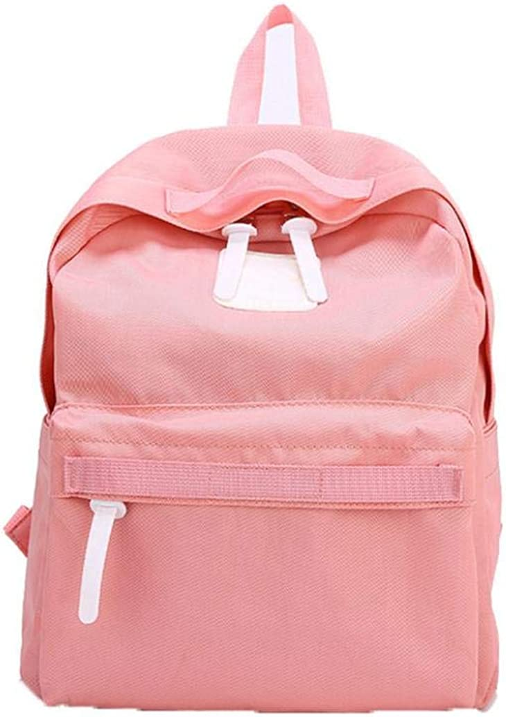 Vertily Family Hiking School Travel Soft Backpack Casual Parent-Child Solid Bag