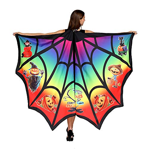 HITOP Butterfly Wings For Women, Butterfly Shawl Fairy Ladies Cape Nymph Pixie Costume Accessory -