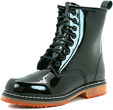 Slip Resistant Leather Boot