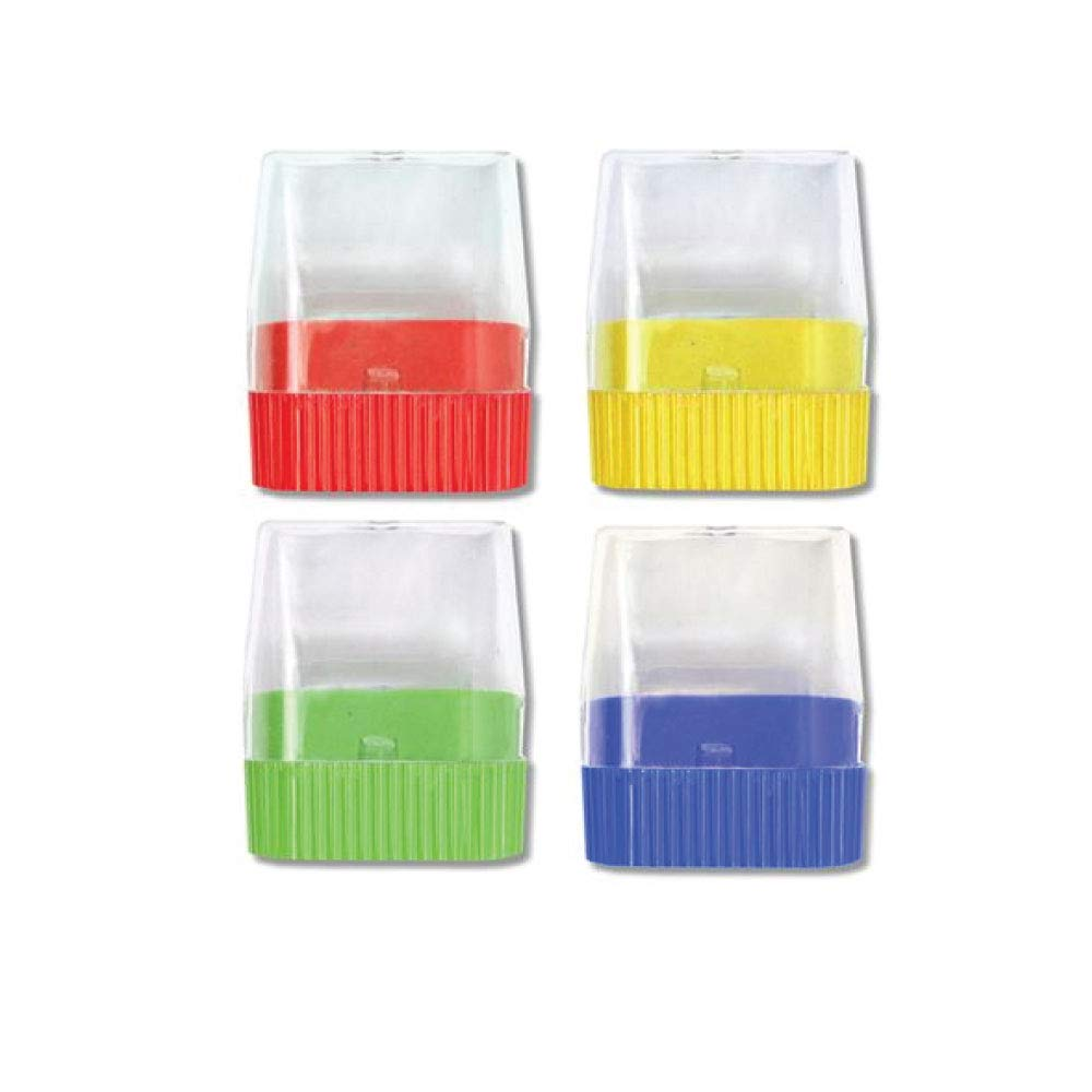 Wholesale Assorted Manual Pencil Sharpeners in Bulk 96 Packs for School, Kids, Teachers - Use for Colored Pencils, 2 Pencils, Crafts, Art Classrooms, Camp