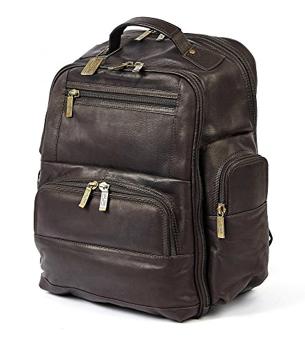 Claire Chase Executive Backpack 2  Caf