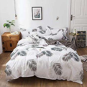 Fansu 3pcs Mikrofaser Bettbezug Sets Muster Design Leichte Bequeme