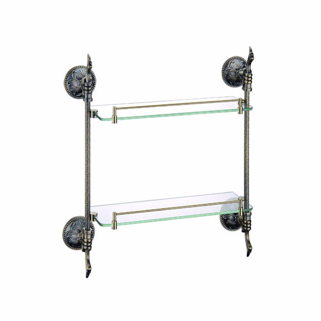 LAONA Carved base, full copper, antique copper bath, pendant set, soap dish, toilet paper frame, single and double pole,Rack 2