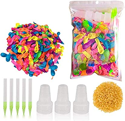 Amazon.com: Vimvo Pack of 1000 Water Balloons Quick Fill ...