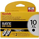 Kodak 10XL Ink Cartridge Twin Pack Black 127 0917