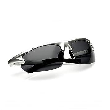 Sunny Honey Al-MG Alloy Gafas De Sol Polarizadas para Hombres HD Vision Protección UV