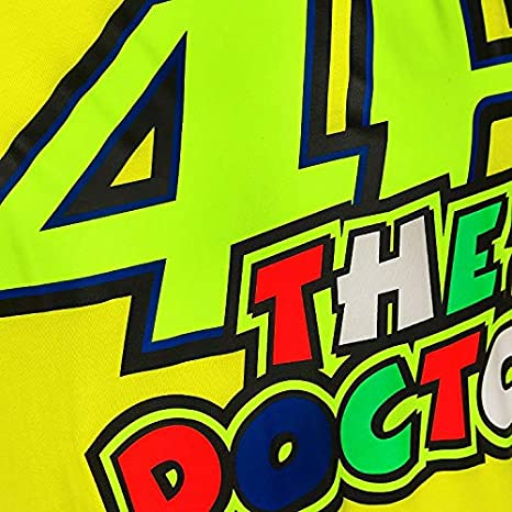 T-Shirt Uomo Valentino Rossi Vr46 Classic-46 The Doctor