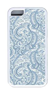 meilz aiaiGood-looking Paisley Pattern Customized Protective TPU Material Case Cover White Fits for iphone 4/4s Safetymeilz aiai