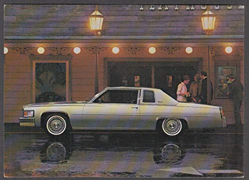 1979 Cadillac Coupe de Ville advertising postcard, unused, unmailed