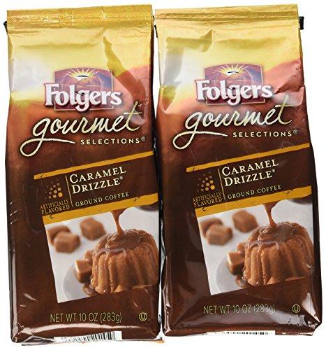 FOL20145 - Folgers Caramel Drizzle Gourmet Ground Coffee Ground
