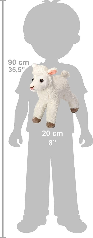 Cuddlekins Mini 18042 20 Cm Agneau Peluche Wild Republic