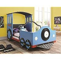 Coaster 400411 Home Furnishings Train Bed, Twin, Blue