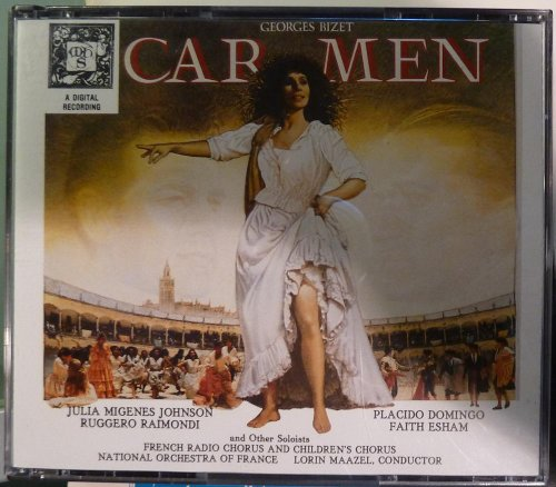 Georges Bizet - Carmen - Julia Migenes Johnson - Placido Domingo - National Orchestra