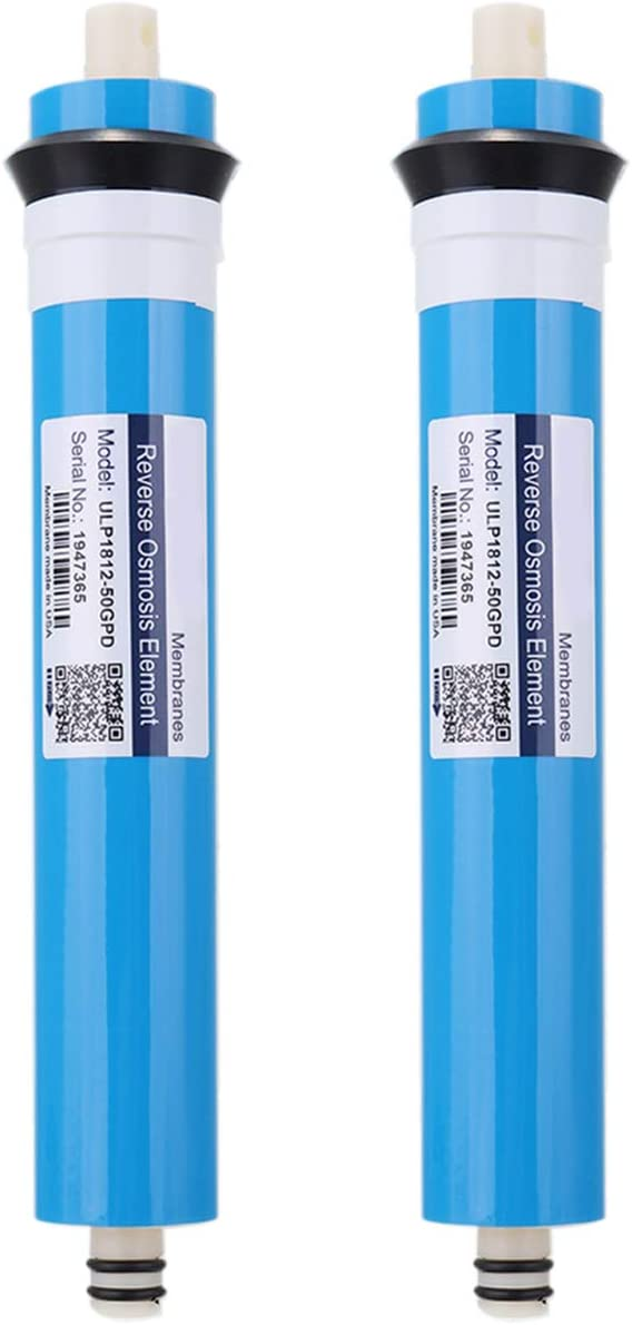 TaoToa 2Pcs ULP1812-50 Residential Water Filter 50 Gpd RO Membrane NSF Used for Reverse Osmosis System