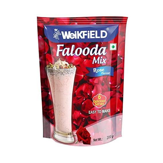 Weikfield Rose Falooda Mix, 200g