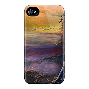 Durable Case For The Iphone 4/4s- Eco-friendly Retail Packaging(ocean Queen)