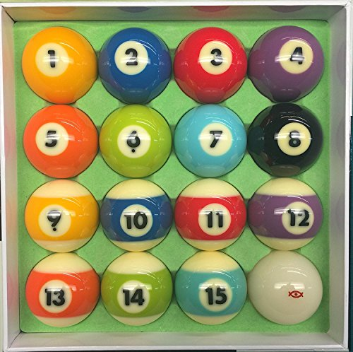 Diamond Billiards Cyclop Traditional Pool Ball Set