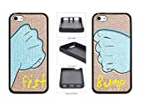Best MYPHONE DESIGNS Friend 5c Phone Cases - Best Friends Fist Bump TPU RUBBER Phone Case Review