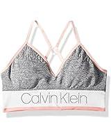 Calvin Klein Big Girls' Seamfree Long Line...
