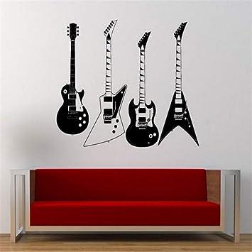 Zmdnl Recogió Cuatro Tipos De Guitarras Eléctricas Tatuajes De ...