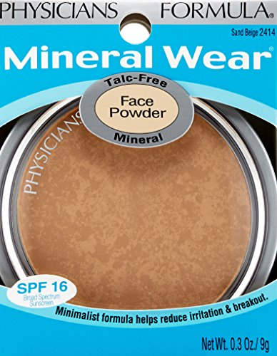 Physicians formula talc free mineral face powder