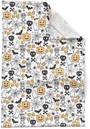 Details about  /Cute Set Of 2 Halloween Green Black Spider Website Cotton Dish Towel Cloth