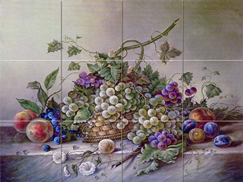 FlekmanArt Fruits Bouquet by Corrado Pila - Art Ceramic Tile Mural 24
