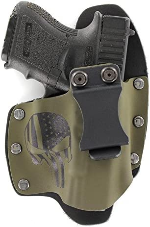 NT Hybrid IWB Holster PUNISHER OD GREEN Taurus Handgun