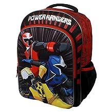 """Power Rangers Dino Charge Molded Neoprene 16"""" Kids Backpack"""