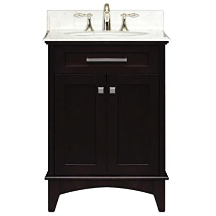 Beau Water Creation MANHATTAN24 Manhattan Collection 24 Inch (25 Inch With  Countertop) Single