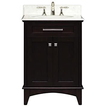 Water Creation Manhattan24 Manhattan Collection 24 Inch 25 Inch With Countertop Single Sink Bathroom Vanity Set