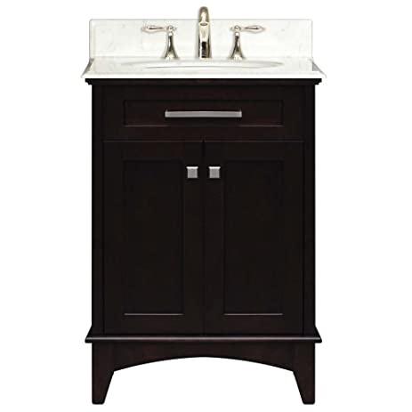 Water Creation MANHATTAN24 Manhattan Collection 24 Inch (25 Inch With  Countertop) Single