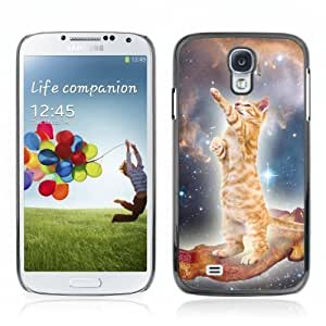 Designer Depo Hard Protection Case for Samsung Galaxy S4 / Bacon Cat