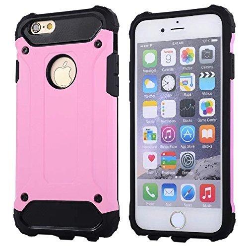 "IPhone 6 Coque,IPhone 6S 4.7 ""Coque,Lantier Refroidir série 2 en 1 Cover Coque Combo Hybrid Defender High Impact Body Armor pour Apple Iphone 6/6S 4.7"" Pink"