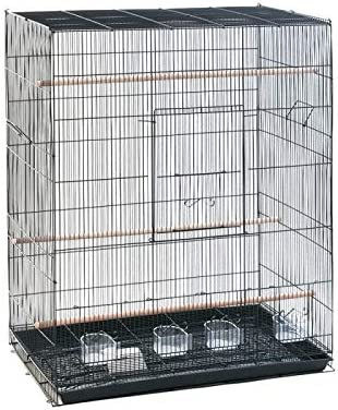 Sólido de alta calidad, completamente plegable jaula - con diseño ...