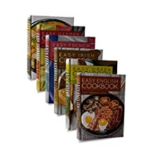 Easy European Cookbook Box Set: Easy English Cookbook, Easy Greek Cookbook, Easy French Cookbook, Easy Irish Cookbook, Easy German Cookbook, Easy Portuguese ... Portuguese Recipes, Irish Recipes 1)