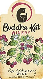 NV Buddha Kat Winery Raspberry Wine 750 mL