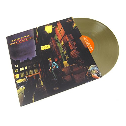David Bowie: The Rise and Fall Of Ziggy Stardust And The Spiders From Mars (Gold Colored Vinyl) Vinyl LP